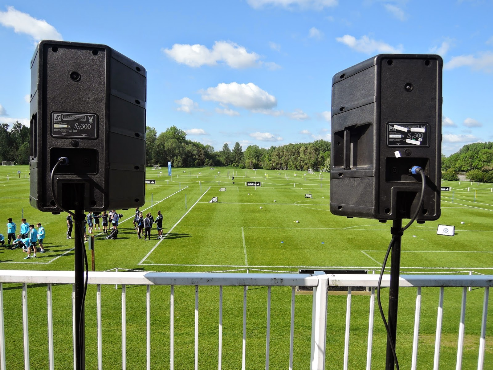A1 Pro Entertainments: Outdoor Sound System for Chelsea F.C