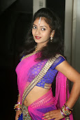 Young actress Jaya Harika in half saree-thumbnail-6