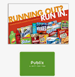 ♥May- Running Out? Run in. Publix $25 Gift Card Giveaway!