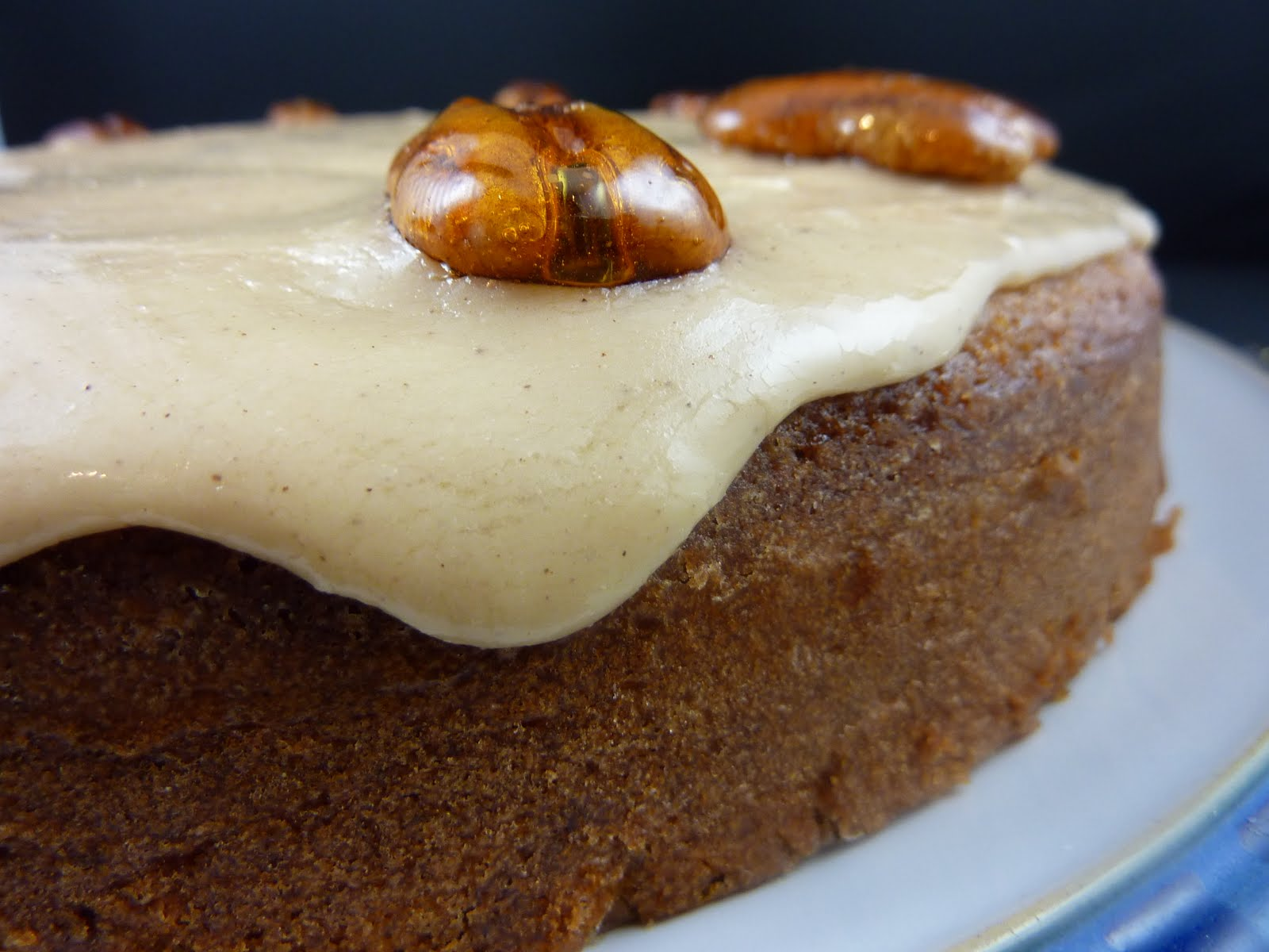 Cookies on Friday: Pumpkin Cake with Browned Butter Icing and Candied ...