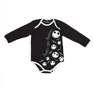 Jack Skellington Nightmare Before Christmas Baby Vest