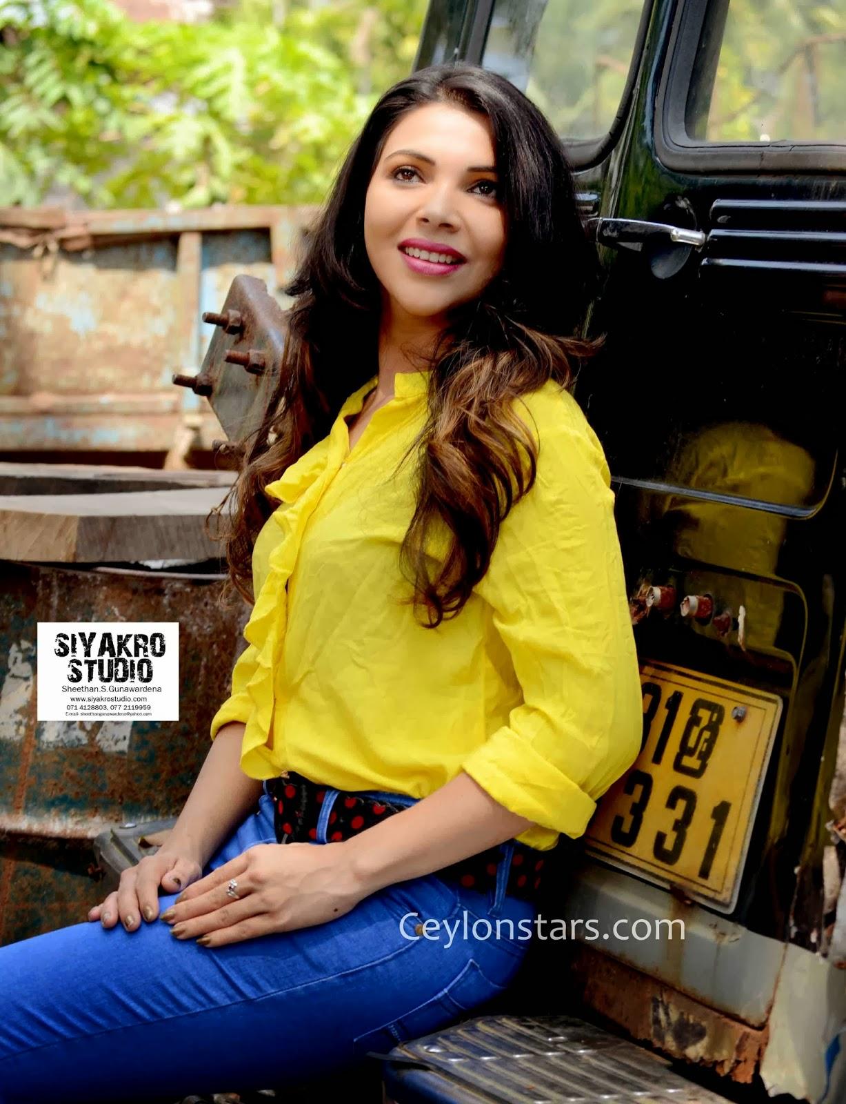 Shashi Anjelina sri lankan model