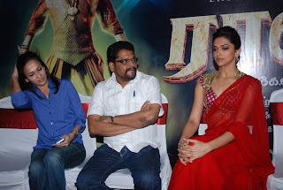 Deepika Padukone Sizzles at Rana Movie Launch Press Meet