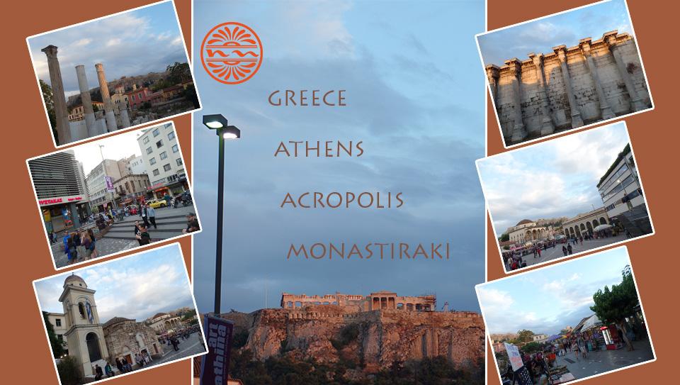 Athens Acropolis Monastiraki