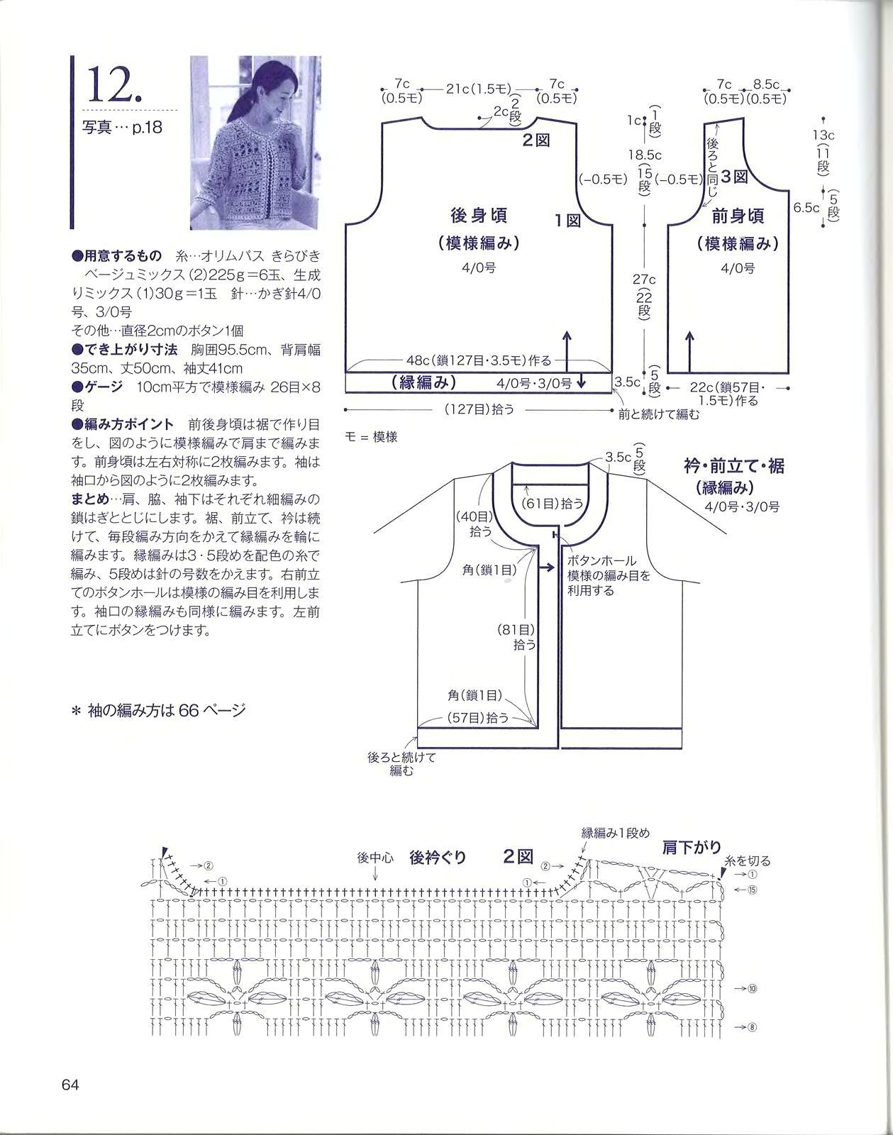 Вязание болеро-жакет спицами