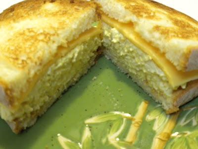 Gluten-Free Egg-Less Salad Sandwich