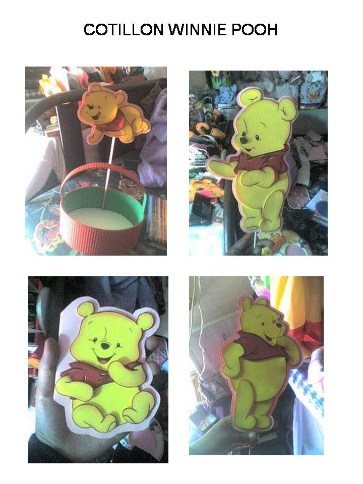 COTILLON WINNIE POOH Y MINNIE  MICKY MOUSE