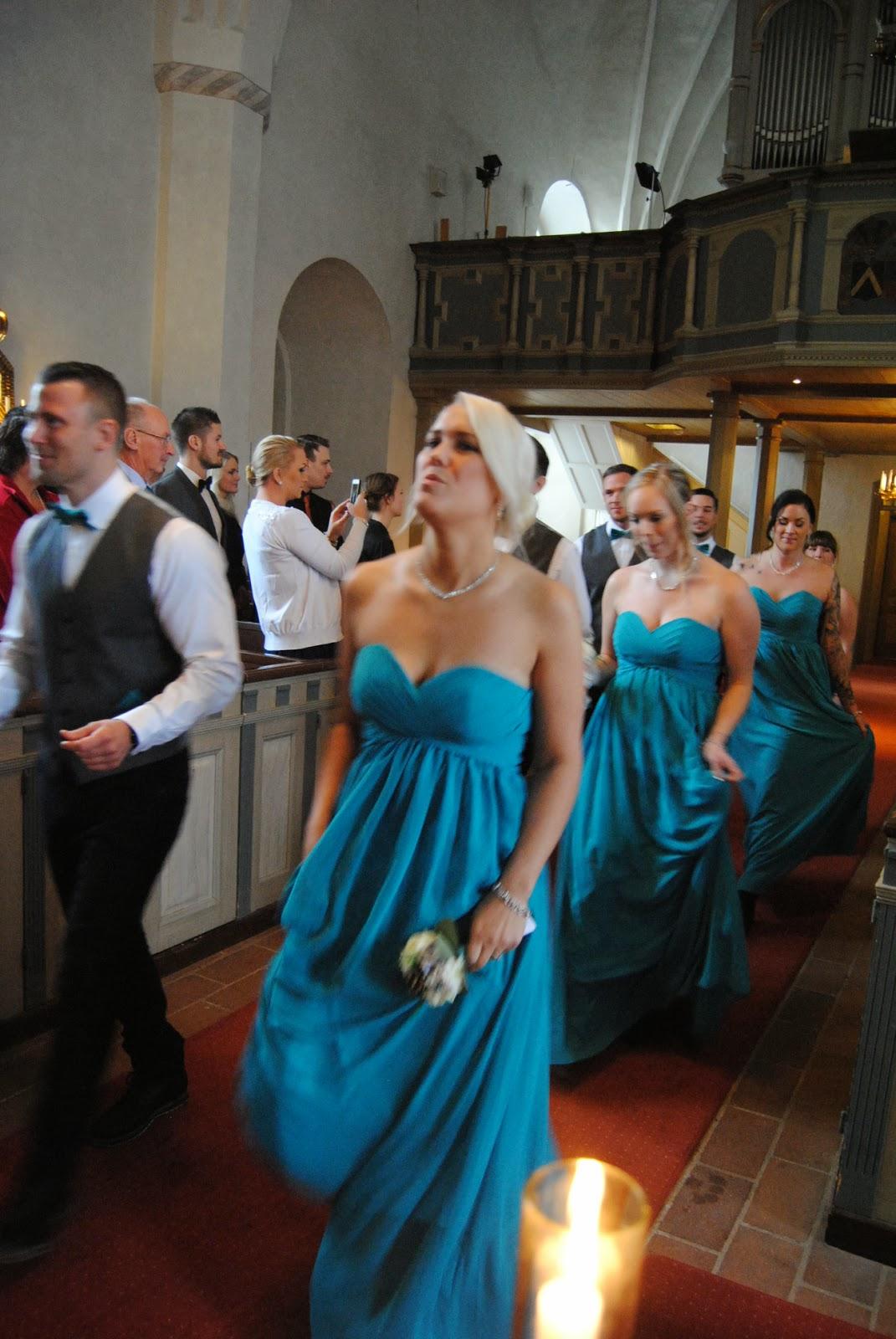 något blått till bruden