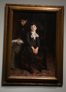 The Met:  John Singer Sargent portrait of a boy painting