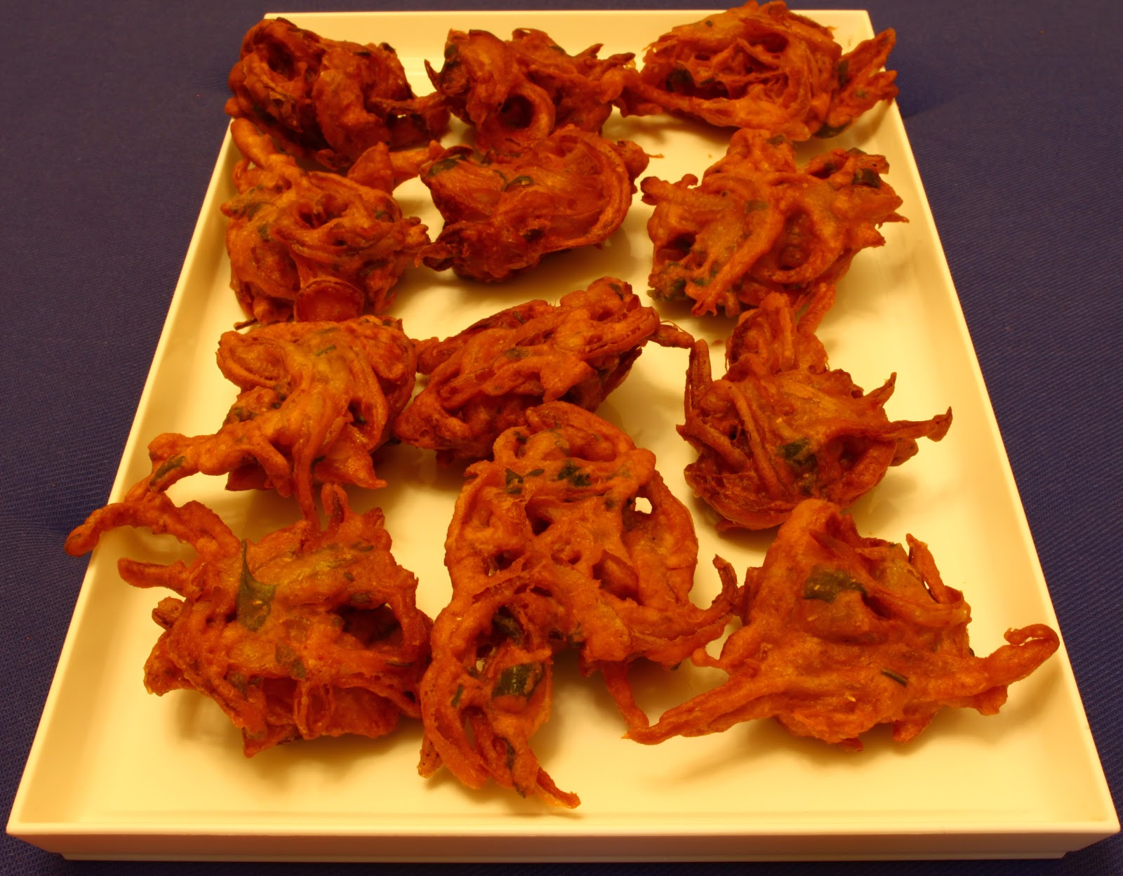 Niti Agni Recipes: Onion Pakora or Indian Fritters