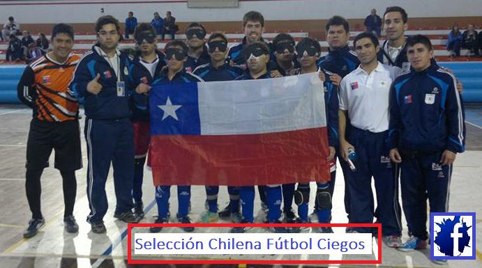 Selección Chilena Fútbol Ciegos