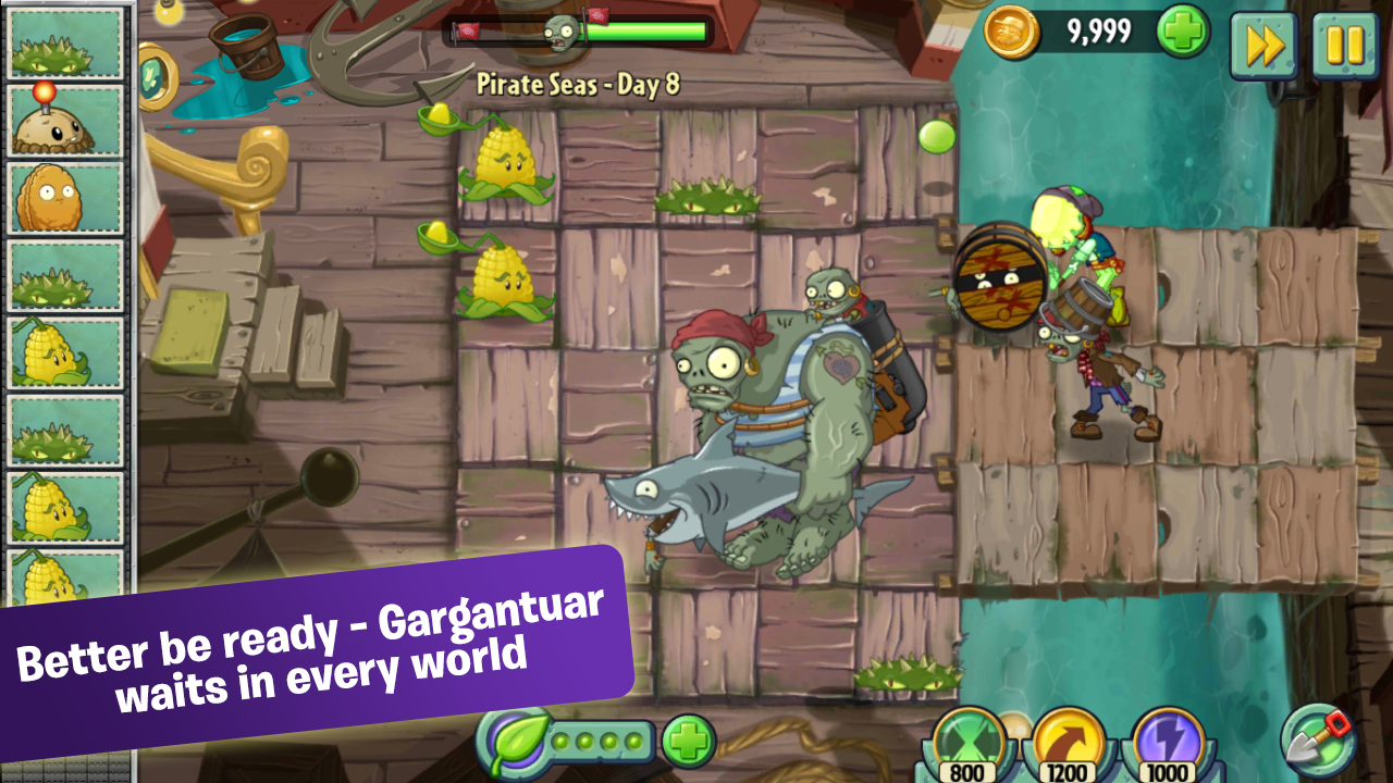 Plants Vs Zombies 2 full apk