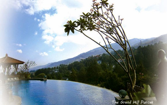 Kolam Renang The Grand Hill Puncak