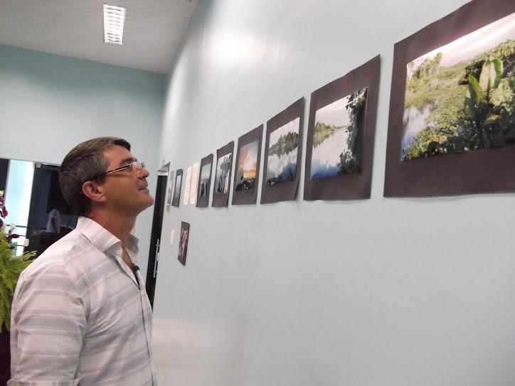 SUCESSO A MOSTRA FOTOGRAFICA DE TECNICOS EM MEIO AMBIENTE DO CENTRO GRAZIELA, 08.06