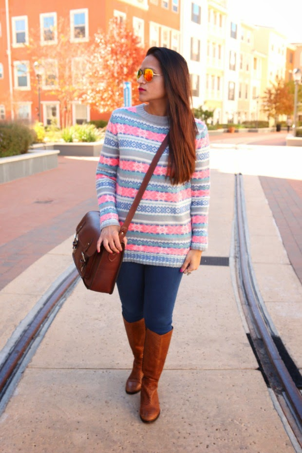 ASOS Sweater, J Brand Jeans, ONA Camera Bag, Tanvii.com