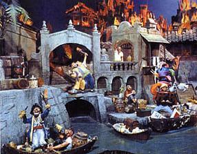 Disneyland Pirates of the Caribbean Ride