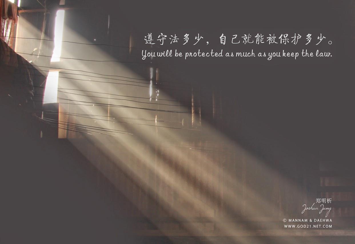 郑明析,郑约书亚,摄理教会,月明洞,法,保护,Joshua Jung, Jeong Myeong Seok, Providence, Wol Myeong Dong, law, protect