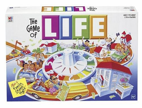The Game Of Life by Hasbro (2007) - cracked