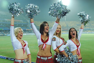 IPL 2011 Cute sex sexy Cheer Girls