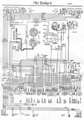 dodge lancer 1961 electrical wiring diagram all about wiring dodge lancer 1961 electrical wiring diagram