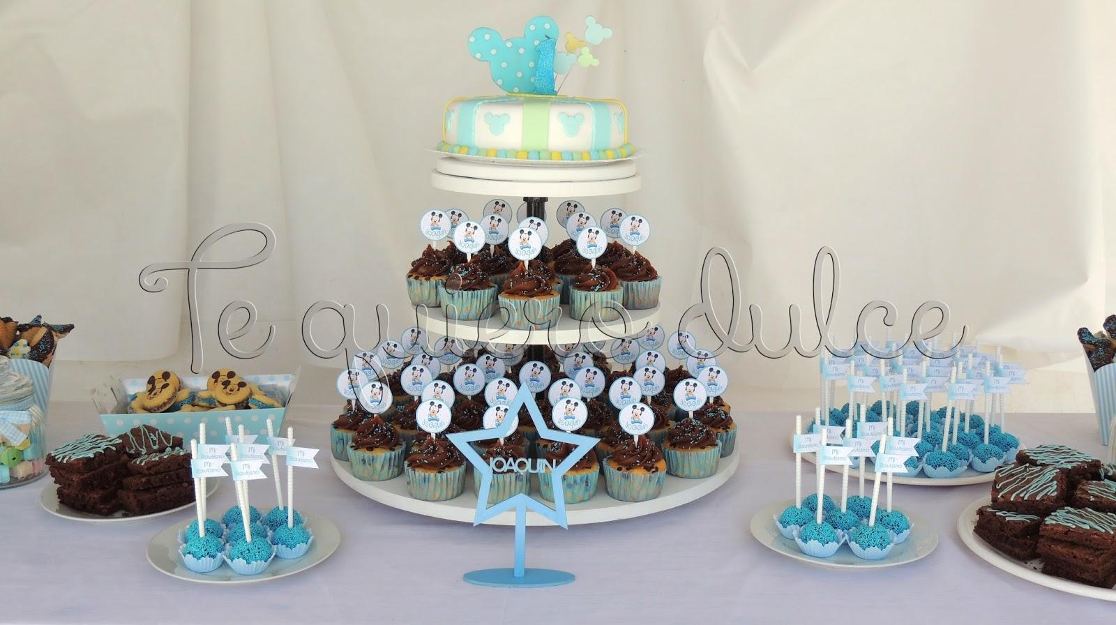 Mesas dulces para bautismo - Imagui