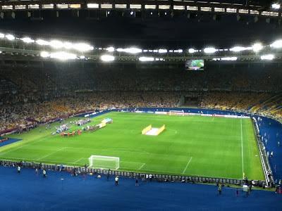 Sweden v Ukraine, Euro 2012