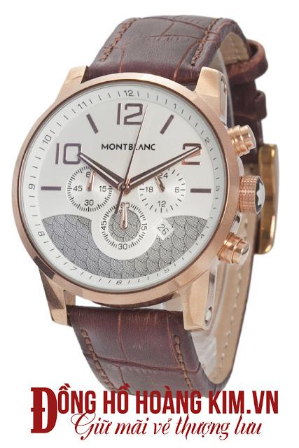 Đồng hồ nam dây da cao cấp giá rẻ Montblantic