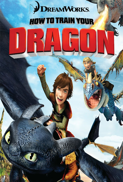 Poster Of How To Train Your Dragon 2010 720p Hindi BRRip Dual Audio