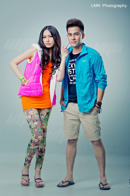 Patricia & Eain Si - Myanmar Model Girls