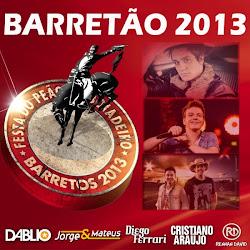 Capa Barretão 2013 | músicas