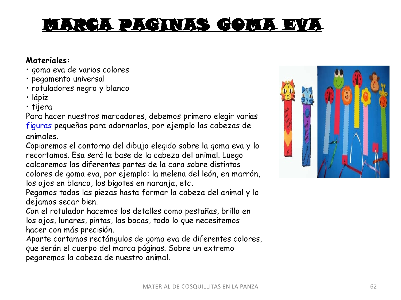 CoSqUiLLiTaS eN La PaNzA BLoGs: MOLDES PARA FOAMY,GOMA EVA Y OTRAS ...