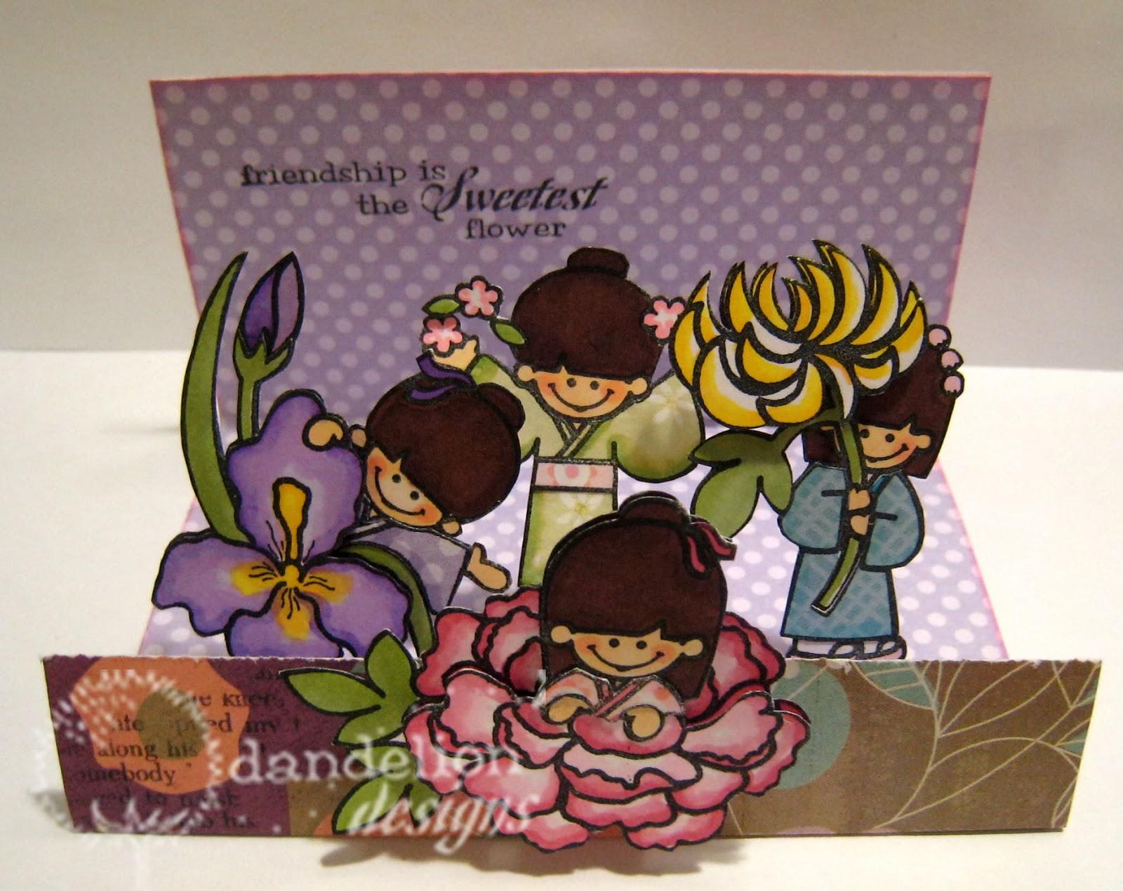 Dandelion Designs Flower Girls