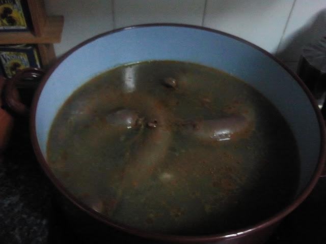 Cociendo - MORCILLAS LACIANIEGAS