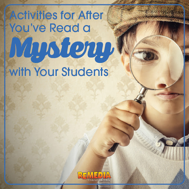 Mystery Genre | Part 3: Activities for After You've Read a Mystery | Remedia Publications