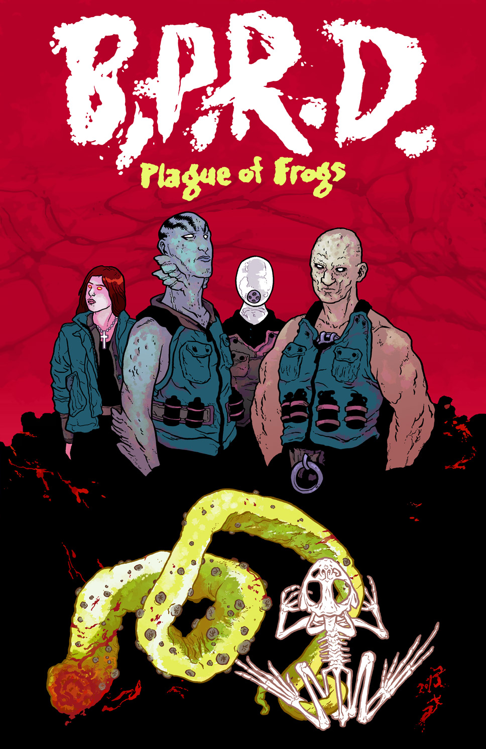 BPRD Plague of Frogs