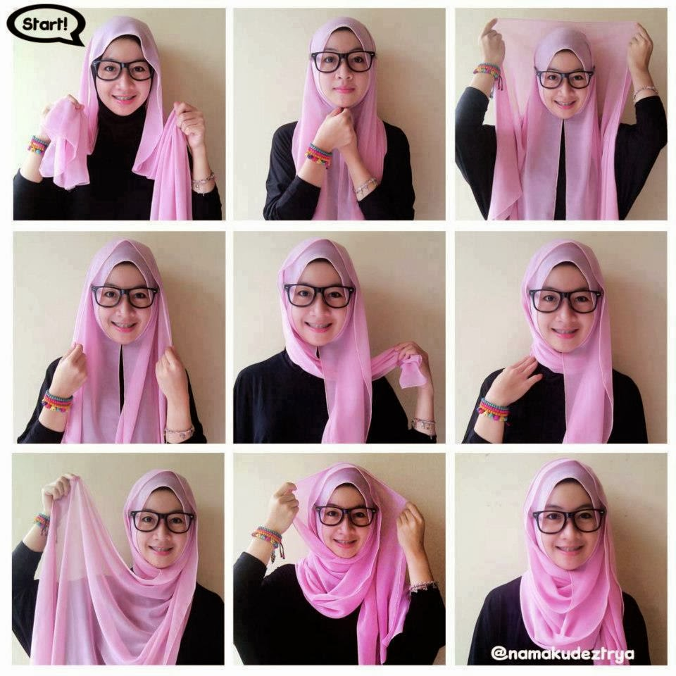 Youtube Tutorial Hijab Paris Zoya