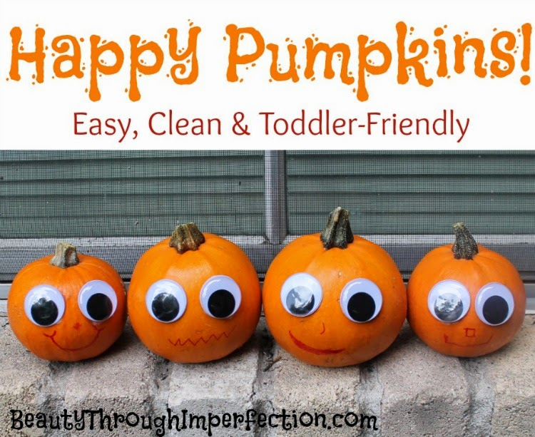 Happy Pumpkins, and 32 Kid friendly Halloween ideas, Clever Nest with Hometalk #toddler #roundup