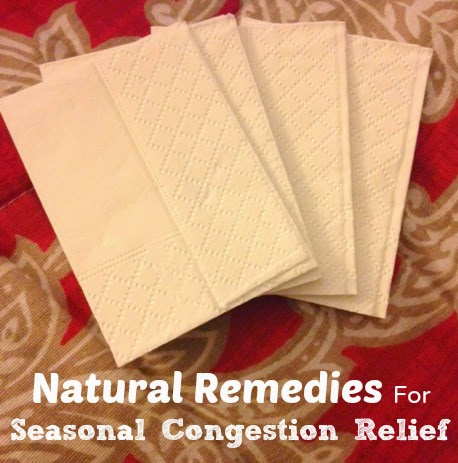 seasonal congestion remedies