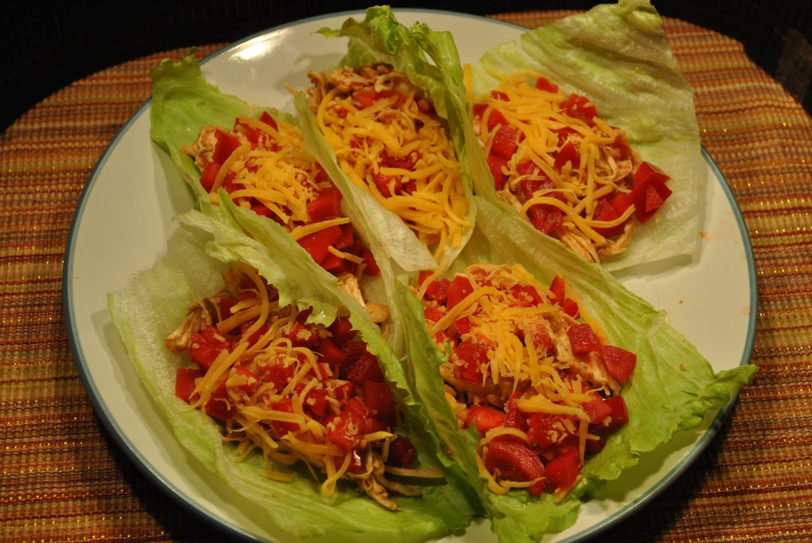 shredded chicken tacos 6 oz shredded cooked chicken good use for ...