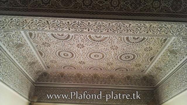 Boutique salon marocain 2016 2017 faux plafond for Plafond marocain 2016