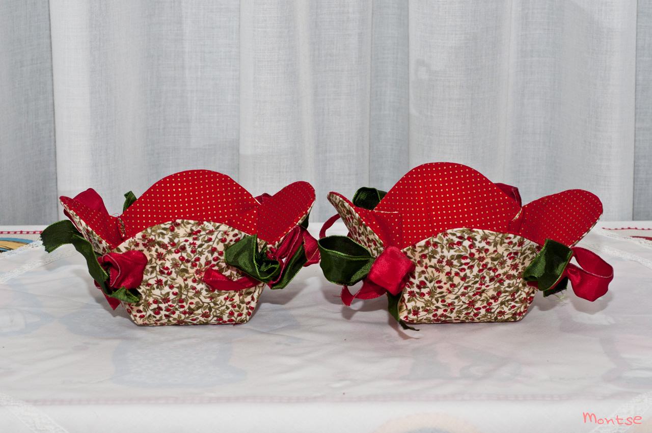 Mi cachito de patchwork paneras de navidad - La casita del patchwork ...