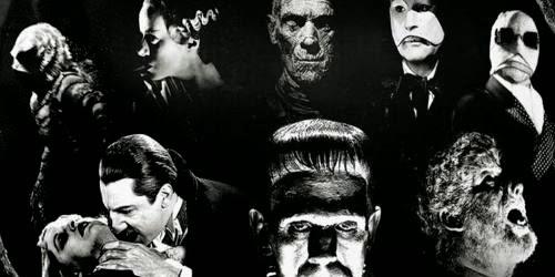 universal, monstruos, momia, dracula, hombre lobo, frankenstein, el zorro con gafas