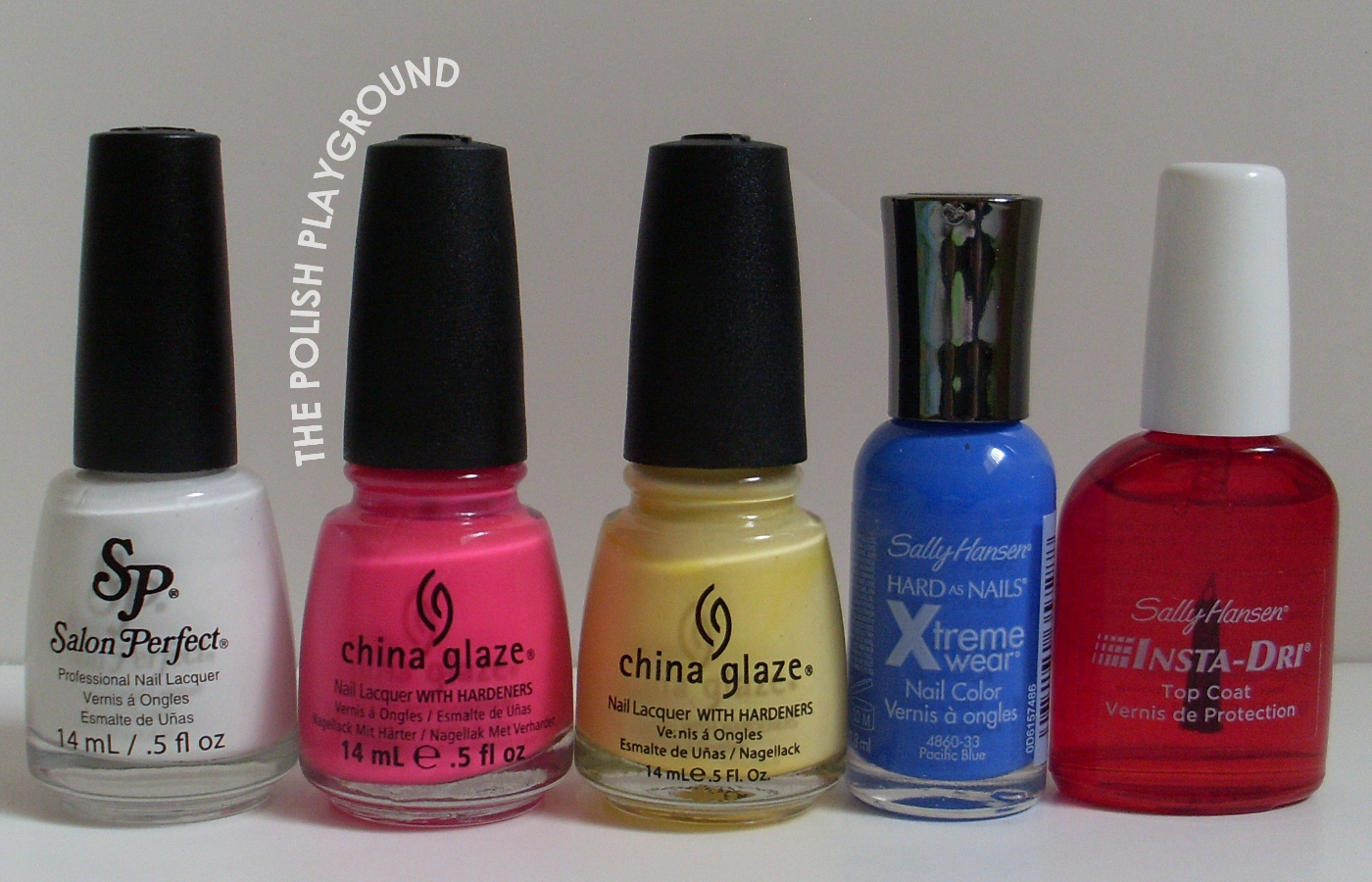 Salon Perfect, China Glaze, Sally Hansen