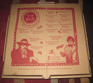 Two Boots NYC Pizza Box