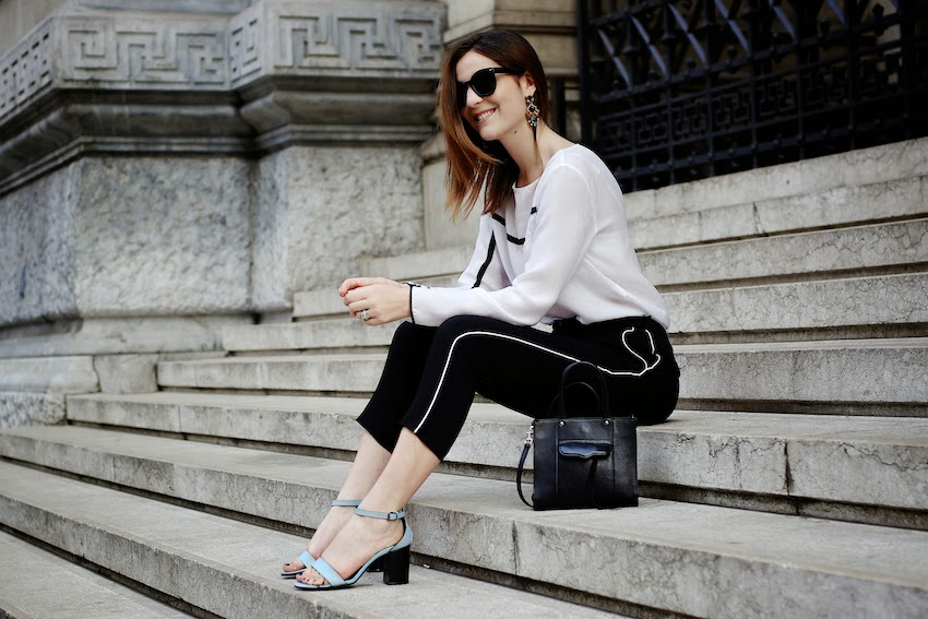 irene buffa sporty chic outfit