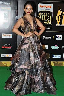 Actress Rakul Preet Singh Pictures in Stylish Dress at IIFA Utsavam Awards 2016 Day 2  (9).jpg