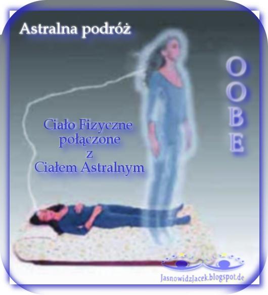 Eksterioryzacja. Świadoma lub Nieświadoma Astralna podróż - OOBE - Ciało Fizyczne połączone z Ciałem Astralnym
