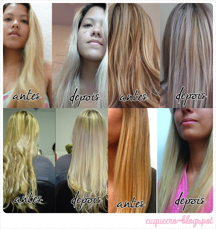 Conhecido Todas nós queremos!: Dica: Platinando o cabelo com Violeta Genciana NF62