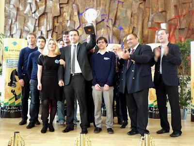 Clichy Echecs 92 vainqueur du Top 12 édition 2014 - Photo FFE