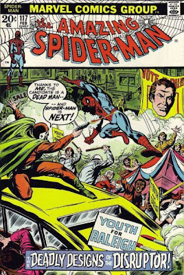 Amazing Spider-Man #117, the Disruptor